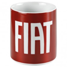 Кружка Fiat красного цвета