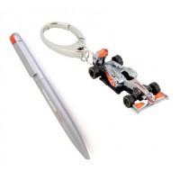*Подарочный набор: Ручка и Брелок McLaren Mercedes