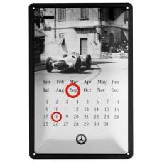 Универсальный календарь Mercedes-Benz на любой год