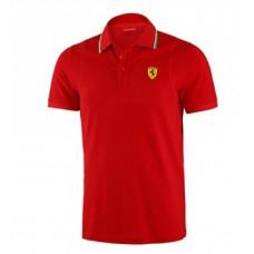 Мужская футболка-поло Ferrari, красного цвета NEW!