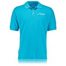 Мужская рубашка-поло McLaren Honda Alonso, голубая