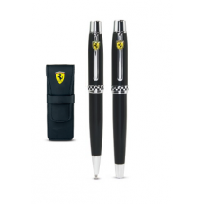 Подарочный набор из 2-х фирменных ручек Ferrari, в чёрном корпусе