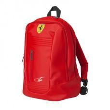 Молодежный рюкзак Ferrari Santander красного цвета