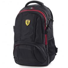 *Стильный рюкзак Ferrari Travel, черный
