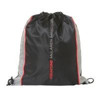 Cпортивный мешок для обуви  Vodafone McLaren Mercedes, черно-серый