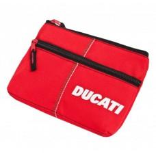 Школьный пенал Ducati с двумя отделениями