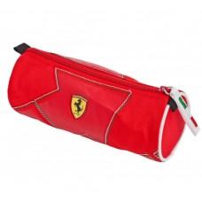 Школьный пенал Ferrari круглый на молнии