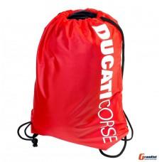 Спортивная сумка мешок для спортивной формы Ducati красный