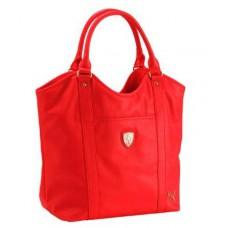 *Красная женская сумка PUMA Ferrari через плечо