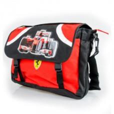 *Школьная сумка через плечо Ferrari CDS