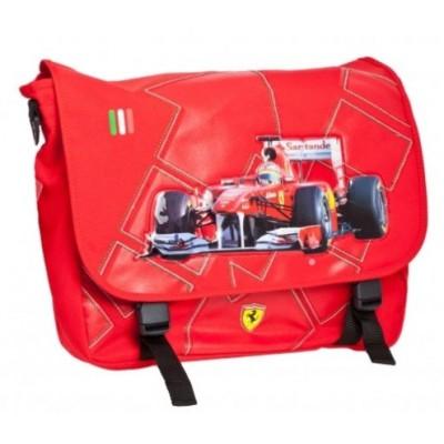 *Школьная сумка Ferrari для мальчика через плечо