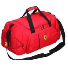 """*Спортивная мужская сумка для тренировок Ferrari """"Football"""", красная"""