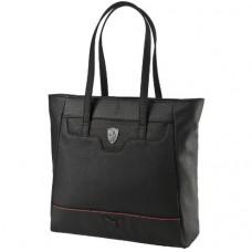 *Спортивная женская сумка PUMA Ferrari через плечо, чёрная