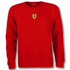 Мужская толстовка Mid Scudetto Ferrari красного цвета