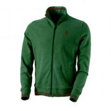 *Мужская толстовка на молнии Ferrari Classic, зеленого цвета