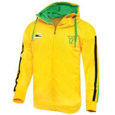 *Спортивная мужская толстовка Ayrton Senna National (желтая)