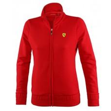 *Женская толстовка на молнии Ferrari, красная