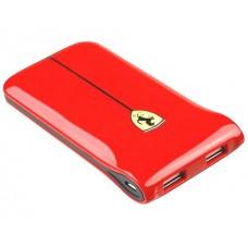 Внешний портативный аккумулятор USB Ferrari, красный