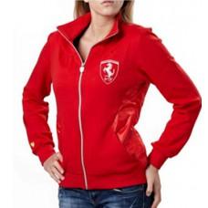 *Женская летняя куртка PUMA Ferrari Scudetto красная