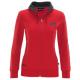 *Женская толстовка на молнии MINI Racing Academy красного цвета