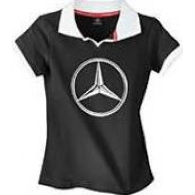 Оригинальное поло для девочки от Mercedes-Benz