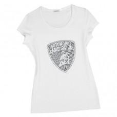 Женская футболка Mosaic Lamborghini, белая
