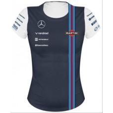 Женская футболка Williams Team Replika