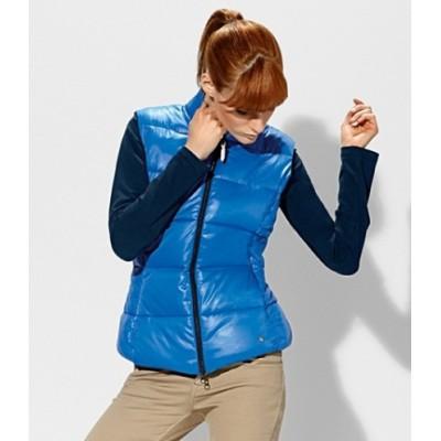 *Женский жилет BMW, нежно-голубого цвета