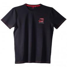 Черная мужская футболка Ayrton Senna