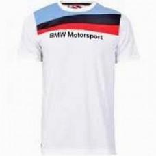 Мужская футболка BMW Motosport белого цвета