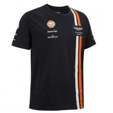 *Мужская футболка Replica Aston Martin Racing синего цвета