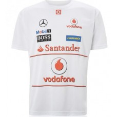 Командная мужская футболка McLaren Mercedes SPONSORS