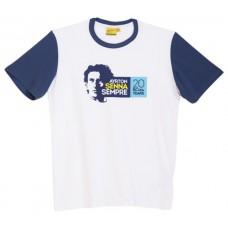 Оригинальная мужская футболка Ayrton Senna (20 years)