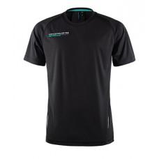 *Спортивная мужская футболка Mercedes AMG Petronas, чёрная