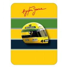 *Коллекционный значок в виде шлема Ayrton Senna
