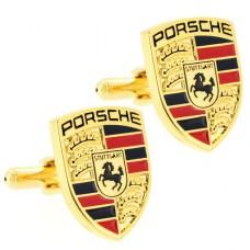 Мужские брендовые запонки Porsche