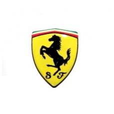 Наклейка Ferrari объемная 5 см