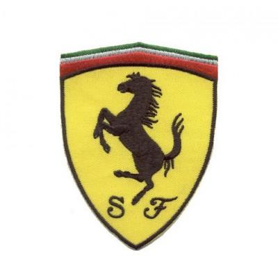 *Нашивка на футболку, Ferrari