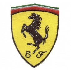 *Нашивка на куртку Ferrari