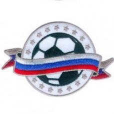 Нашивка Российский футбольный мяч