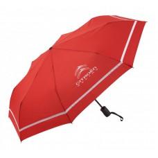 *Красный складной зонт Citroen Racing