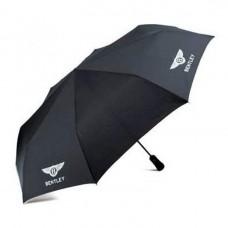 Черный складной зонт Bentley