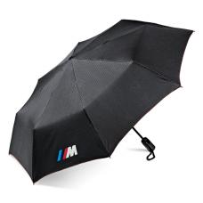 Черный складной зонт BMW M Carbon