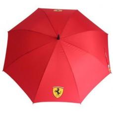Красный женский зонт-трость Ferrari