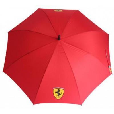 *Красный зонт-трость Ferrari